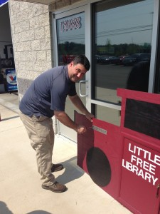 HomeTowne Auto Repair & Tire's little library becomes chartered, and joins international little free library group