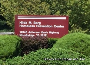 Steve's Auto Repair & Tire donates to Hilda Barg homeless shelter in Woodbridge