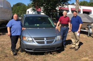 Steve's Auto Repair & Tire donates minivan to NOVA automotive program