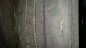 tire state inspection fail secondary rubber steel belts
