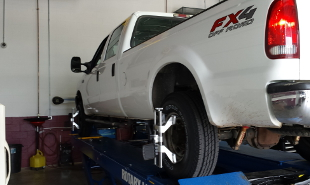 Fleet Alignment Ford FX4 Off Road Crew Cab Diesel 4x4