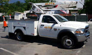 Fleet GMC Bucket Truck