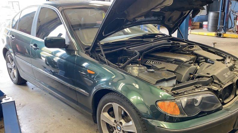 BMW overheating