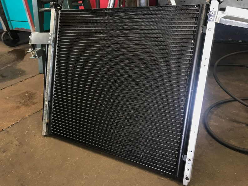 New air conditioning condenser
